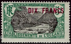 French Polynesia Sc #71 Mint F-VF...Polynesia is Unique!