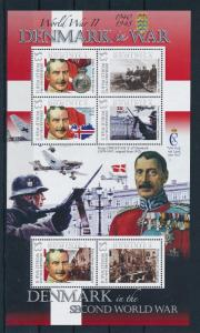 [81177] Dominica 2009 Second World war Denmark Sheet MNH