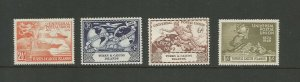 Turks & Caicos 1949 75th Anniversary Of UPU Mounted Mint SG 217/20