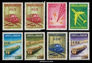 Paraguay Scott 577-581, C278-C281 Mint never hinged.
