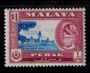 Perak 135 MNH VF bright copy