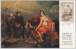 56905 - FRANCE -  POSTAL HISTORY - MAXIMUM CARD:1960  Germaine de Staël NAPOLEON