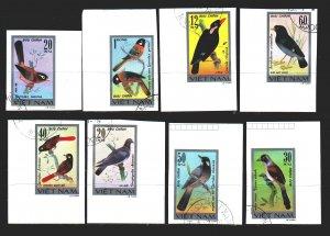 Vietnam. 1978. 948u-55u. Birds, fauna. USED.