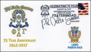 17-387, 2017, Phi Delta Gamma, Lares PR, Puerto Rico, Pictorial, Event Cover,