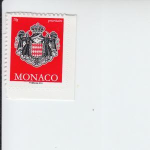 2014 Monaco Coat of Arms SA (Scott 2775) MNH