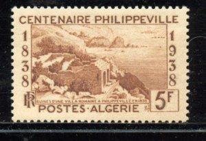Algeria # 221, Mint Never Hinge. CV $ 8.00