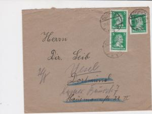 german 1927 stamps cover  ref 18858
