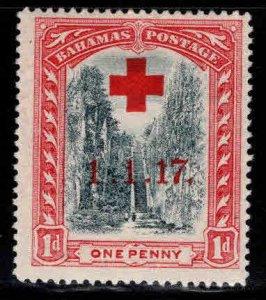 Bahamas Scott B1 MH* Red Cross stamp