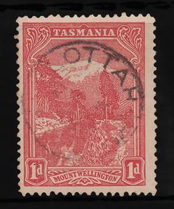 Australian States TASMANIA Sc103 wmk13 USED