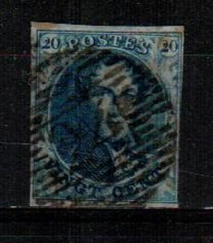 Belgium Scott 2 Used (Catalog Value $57.50)