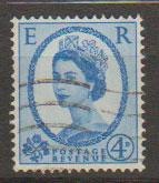 Great Britain SG 616a Used phosphor issue  Deep Ultramarine