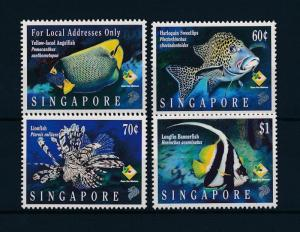[48346] Singapore 1995 Marine life Fish MNH