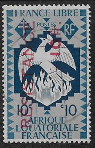 FRENCH EQUATORIAL AFRICA SC# B25  FVF/U  1944
