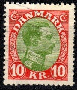 Denmark #131 F-VF Used CV $65.00 (X9150)
