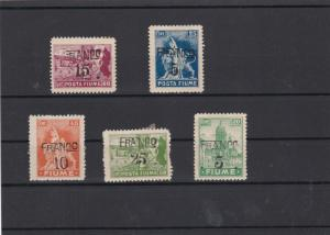 Fiume Stamps ref R 19396