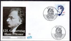 Germany 1832 U/A FDC