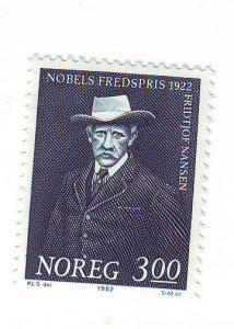 Norway Sc814 1982 Nansen stamp mint NH
