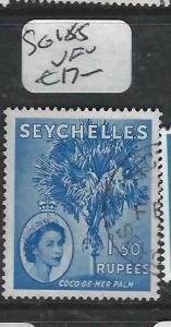 SEYCHELLES  (PP2905B)  QEII  1.5R  TREE  SG 185   VFU