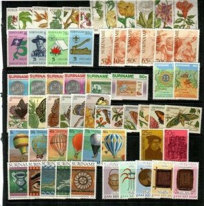 Surinam Mint NH (1983 Commemorative Year Set) - CV $55.65