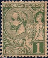 Monaco; 1891-1921; Sc. # 11; O/Used Single Stamp