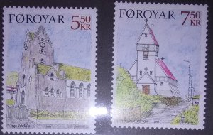 Faroe Island Scott #449-50