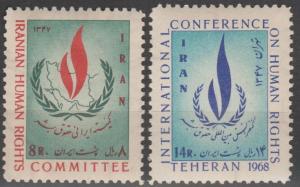 Persia #1473-4  MNH F-VF (SU687)