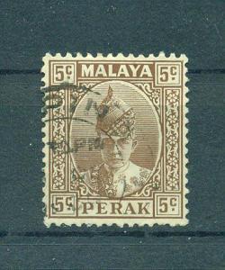 Malaya - Perak sc# 87 used cat value $.25