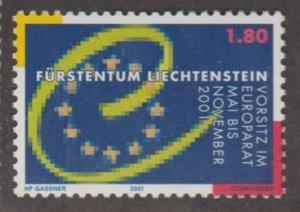 Liechtenstein Scott #1200 Stamp - Mint NH Single
