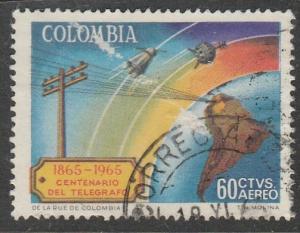 Colombie  1965  Scott No. C470  (O)  Poste aérienne