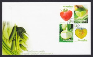 THAILAND POST FDC FIRST DAY COVER 2011 HOME GROWN VEGETABLE #925