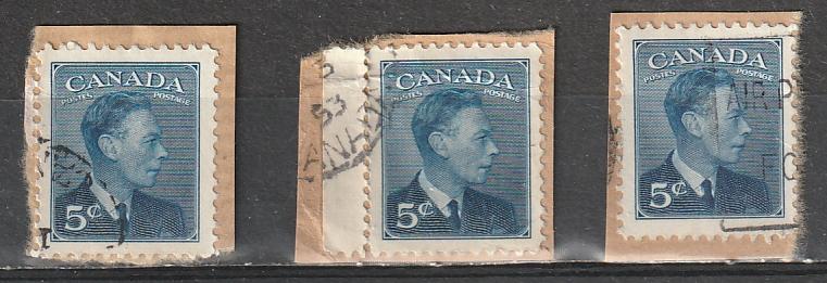 #288 Canada Used George VI