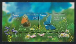 Bosnia and Herzegovina Butterflies MS