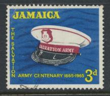 Jamaica SG 242 Used   SC# 242   Salvation Army see details