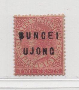Malaya Sungei Ujong - 1882-84 - SG19 - 2c Pale Rose - MNH #638