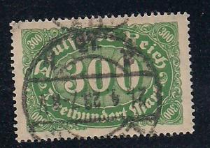 Germany Sc. # 158 Used Inflation Issue Wmk. 125 - L34