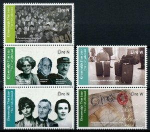 Ireland Famous People Stamps 2020 MNH Irish Abroad Mary Elmes WWII WW2 5v Set