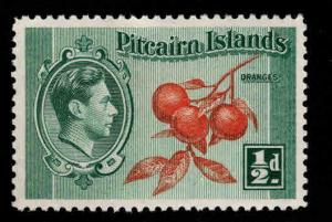 Pitcairn Islands Scott 1 MH* 1940 stamp