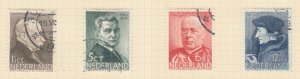 NETHERLANDS, 1936 Social Relief Fund, set of 4, used.