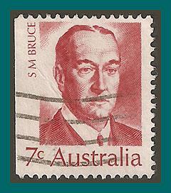 Australia 1972 Famous Australians, used  517,SG508