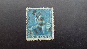 Barbados Queen Victoria Used