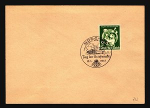 Germany SC# B188 First Day Cover - Z17170