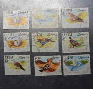 DUBAI  Stamps   Birds plus  ~~L@@K~~