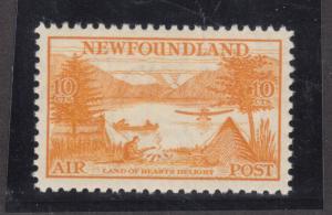 Newfoundland #C14 Extra Fine Never Hinged Gem