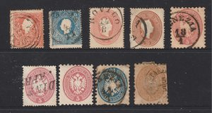 Lombardy & Venetia a small mainly used lot
