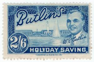 (I.B) Cinderella Collection : Butlins Holiday Saving 2/6d
