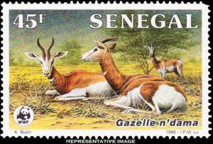 Senegal Scott 678 Mint never hinged.