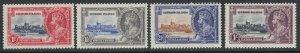 Leeward Islands, Scott 96-99 (SG 88-91), MNH