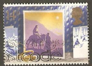Great Britain Used Sc 1234 - Christmas Design (1988)