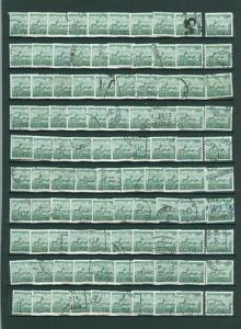 Norway. Lot. 100 Stamp. Bulk. 1978. Buildings II. 100 Ore. Used. Off Paper.