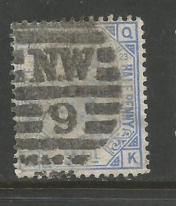 GREAT BRITAIN 82 VFU PLATE 23 K752-1
